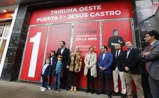 Jesús Castro, para siempre en El Molinón