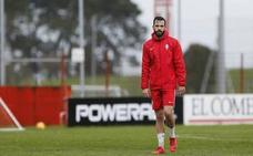 Guitián es baja en el Sporting por lesión
