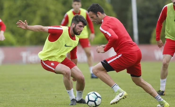 Entrenamiento del Sporting (28-05-2018)
