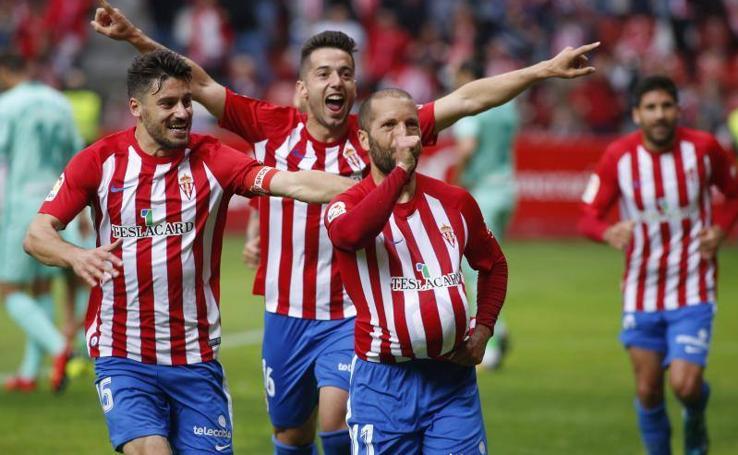 Sporting 2 - 1 Granada, en imágenes