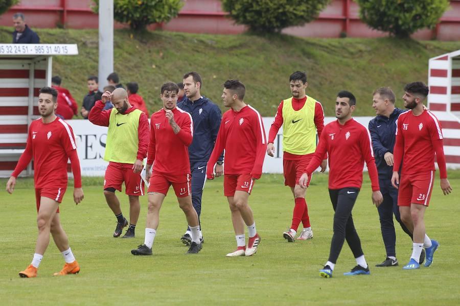 Entrenamiento del Sporting (01-06)
