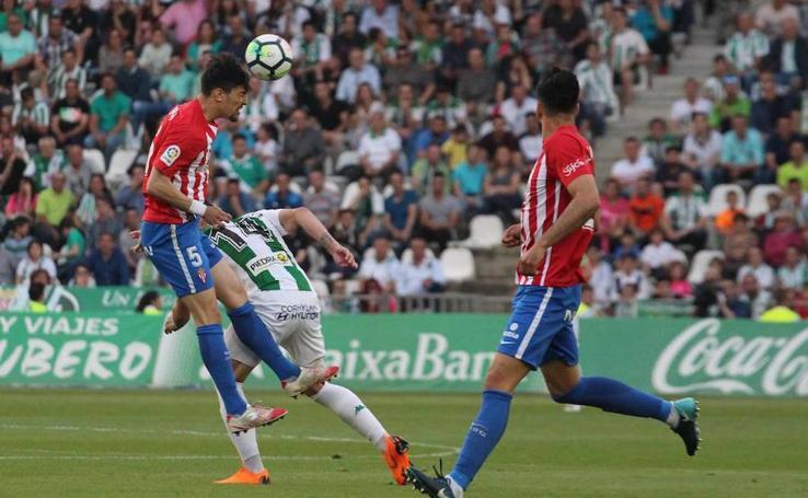 Córdoba 3-0 Sporting, en imágenes