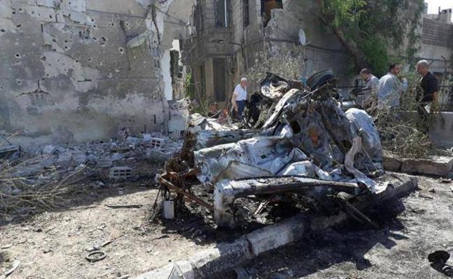 El balance de víctimas del atentado de Damasco sube a 18 muertos