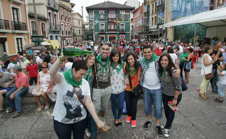 Las fiestas del verano en Asturias