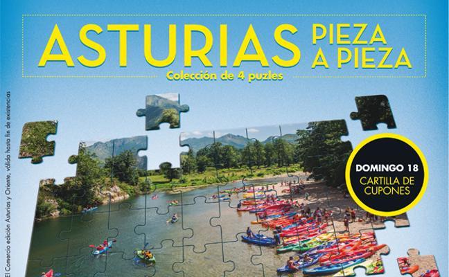 Colecciones de puzles Asturias pieza a pieza
