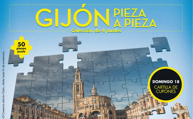 Colección de puzles Gijón, pieza a pieza