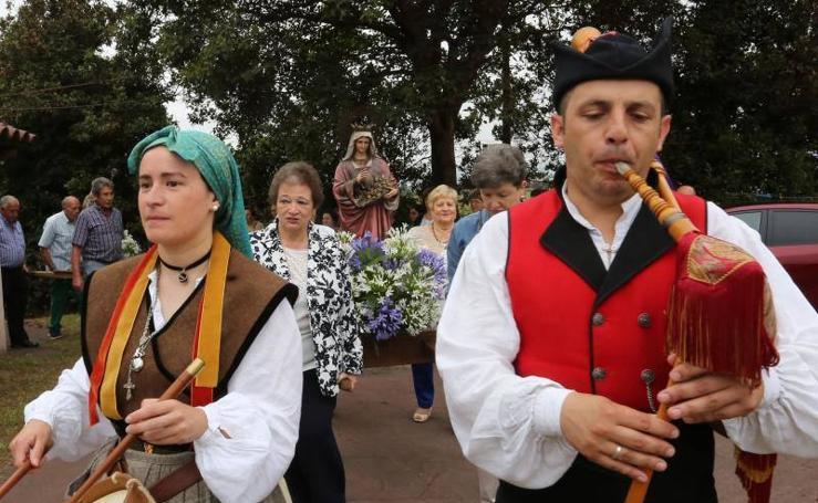 Fiestas en Veriña y Santurio