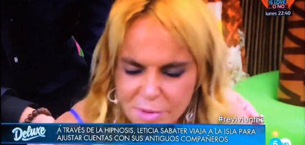 Leticia Sabater hace arder las redes con su última intervención televisiva