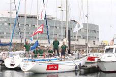 El Wanted, primer barco asturiano en participar en la regata Fastnet