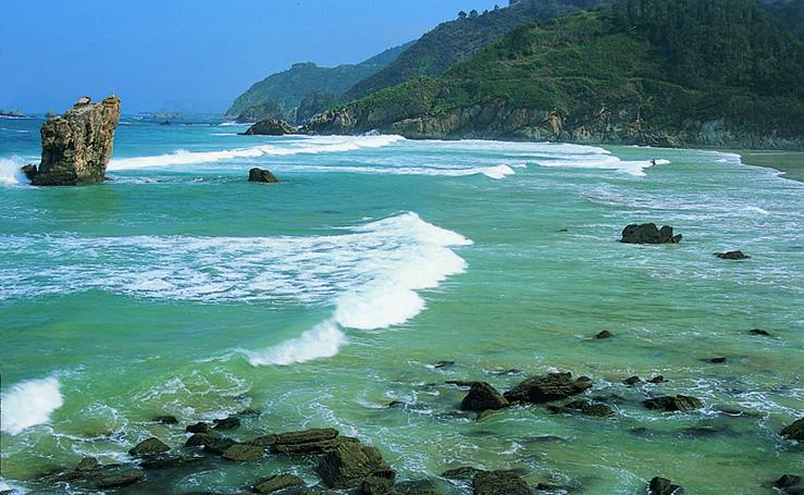 Las mejores playas del Occidente Asturiano