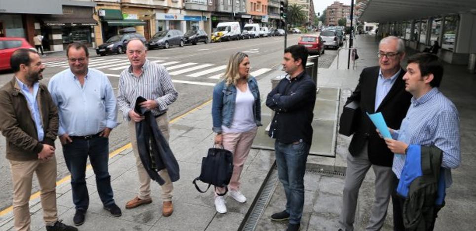 La reforma de la calle Alcalde Parrondo costará 302.979 euros