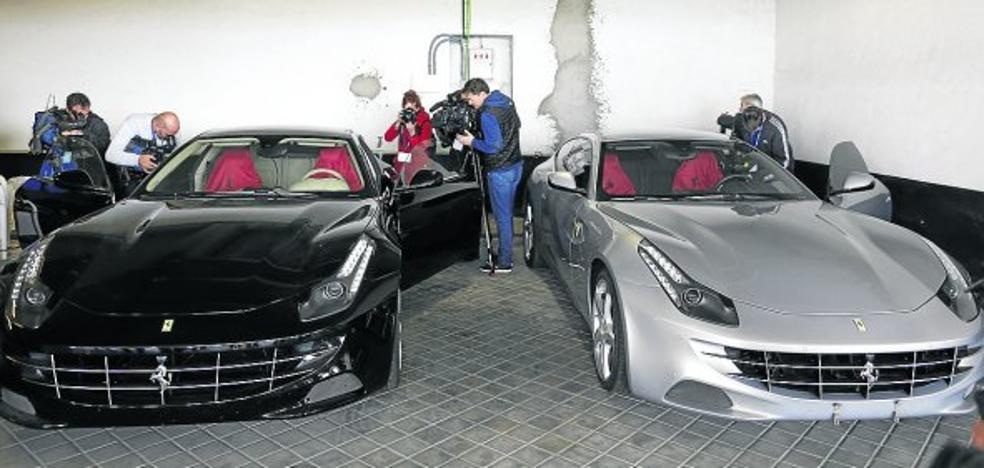 Venden los Ferrari de don Juan Carlos