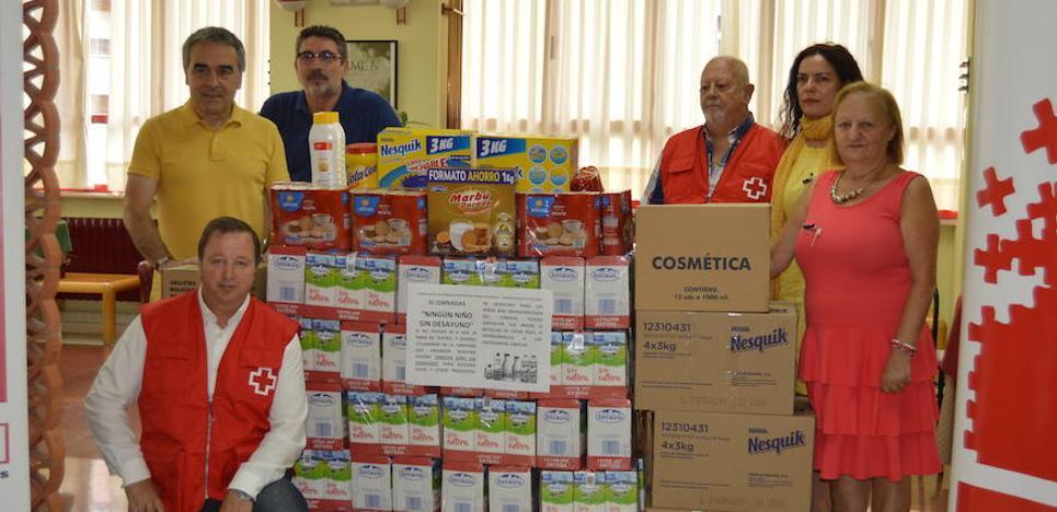 Más de 300 litros de leche para los niños necesitados de Cangas del Narcea
