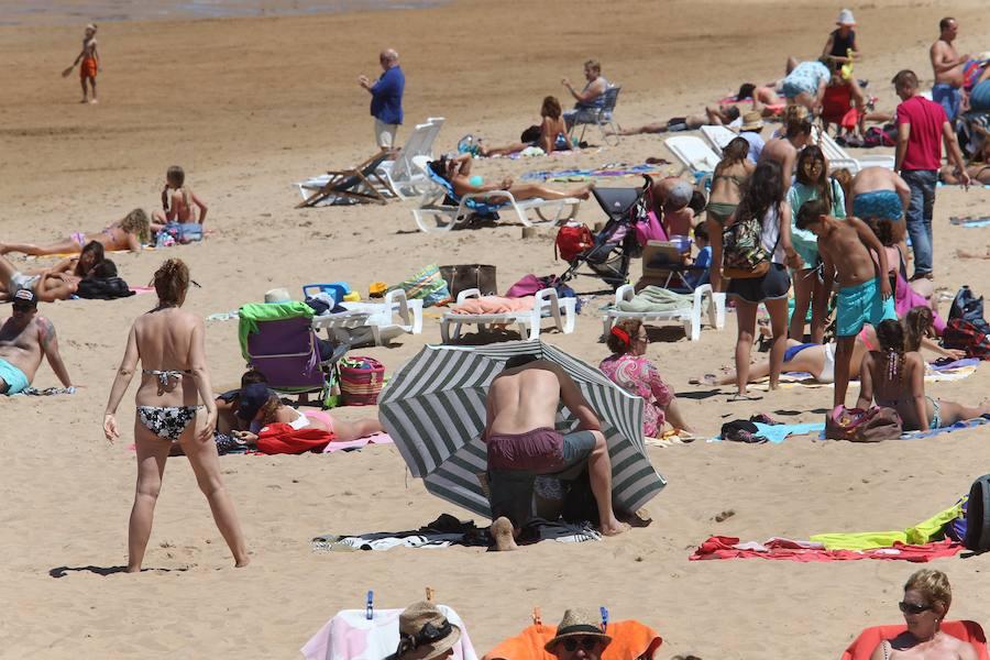 Asturias disfruta de sol y temperaturas agradables