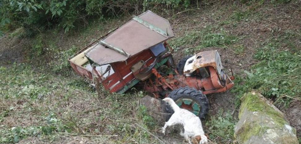 Fallece el accidentado con un tractor en junio en Quintueles