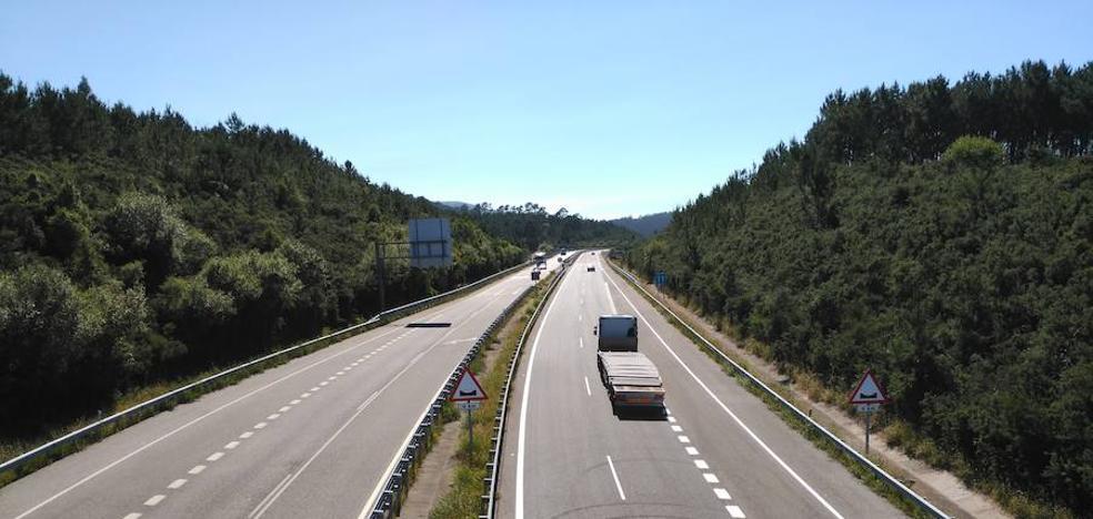La ejecución de obras obligará a cortar la A8 en Cadavedo durante un mes