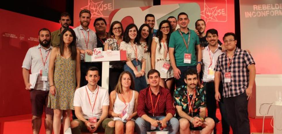La asturiana María Vallina, nueva vicesecretaria de Juventudes Socialistas