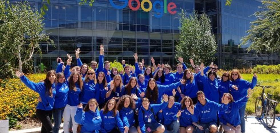 Alumnos de Navia conocen Google en Silicon Valley