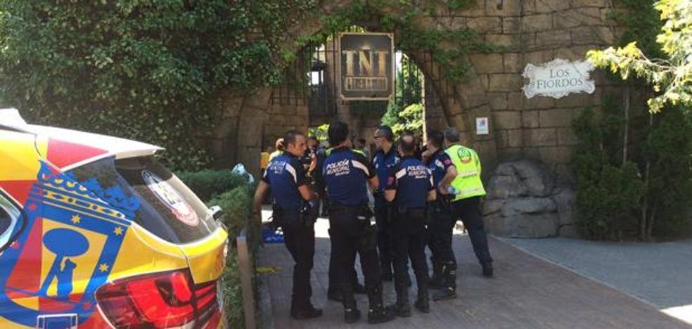 Al menos 26 heridos tras un choque de dos convoyes en el Parque de Atracciones de Madrid