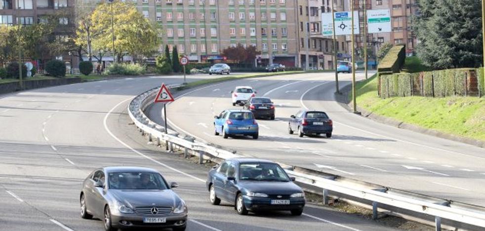 Oviedo quiere reducir carriles en la ronda interior para pacificar el tráfico