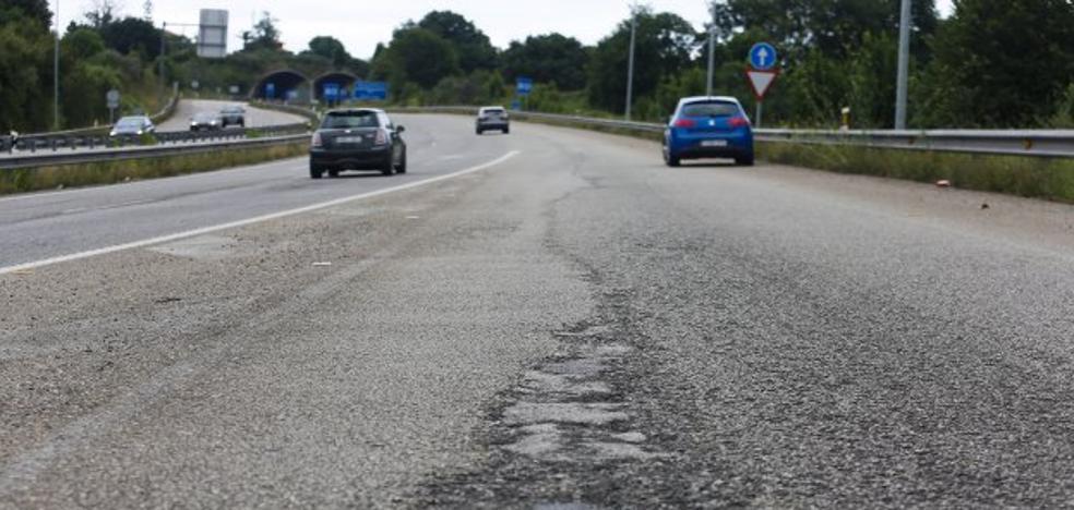 La alta siniestralidad obliga a reparar la autovía minera entre Siero y Gijón