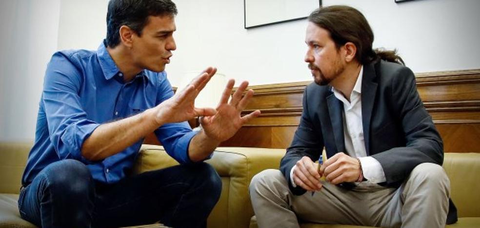 El pacto de izquierdas en Asturias, pendiente de Sánchez, Iglesias y las primarias de la FSA