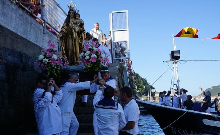 San Esteban honra a la Virgen del Carmen