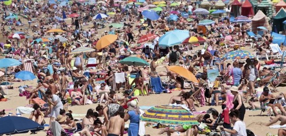 El suroccidente asturiano supera los treinta grados