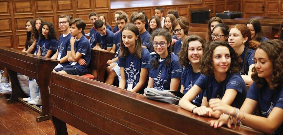 Tercer grupo de jóvenes para los Campus Científicos de Verano