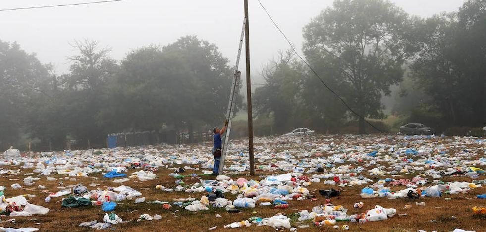 Más de 22 toneladas de basura en el Carmín