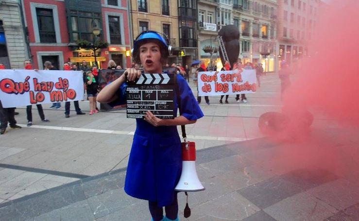 Representación teatral de la compañía La Xata la Rifa