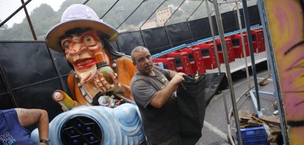 Los feriantes reclaman un nuevo espacio en el que instalarse en San Agustín