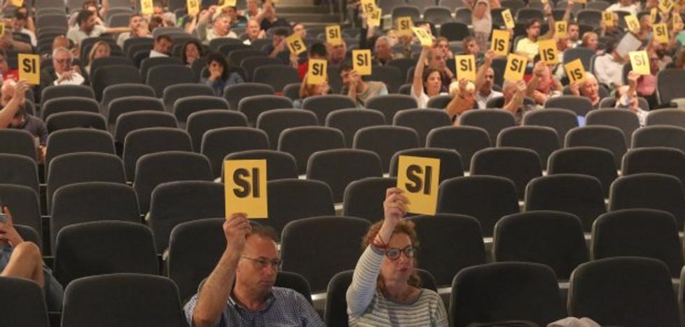 El abandono de socios allana a Corripio aprobar la primera asamblea anulada