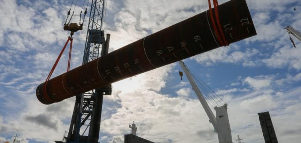 Las nuevas inversiones en Asturias permitirán a Arcelor entrar en el gran negocio eólico marino