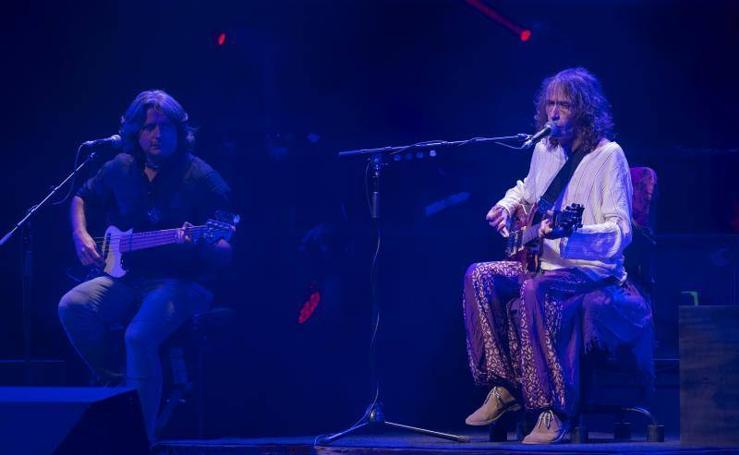 El concierto de Robe Iniesta en imágenes