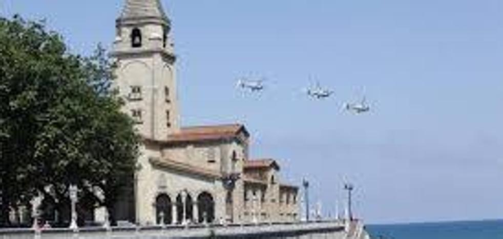 El Consejo de Cooperación pide que «desaparezca de Gijón» el Festival Aéreo