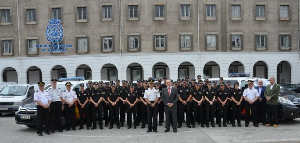 36 agentes en prácticas reforzarán la Policía Nacional