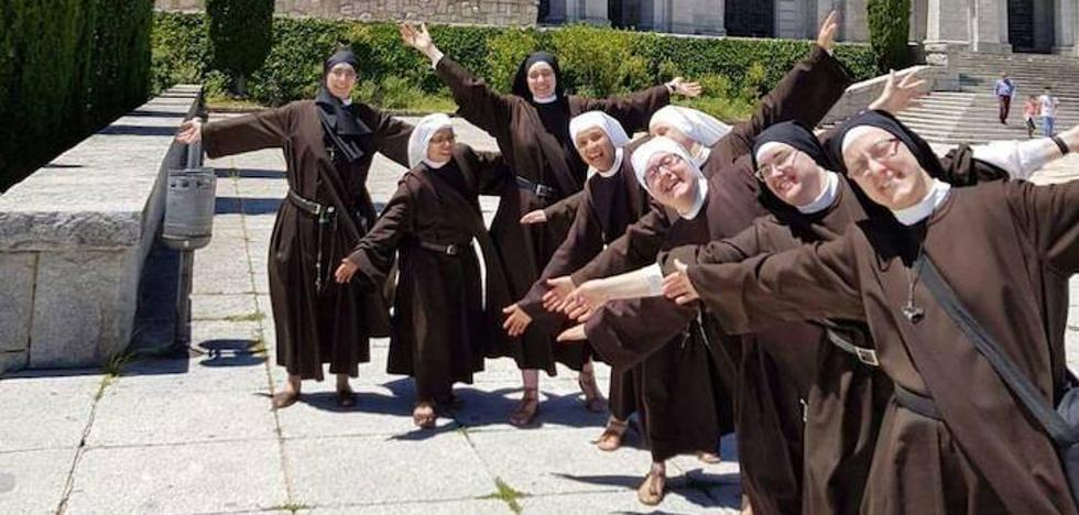 Las monjas de Valdediós, en el Valle de los Caídos