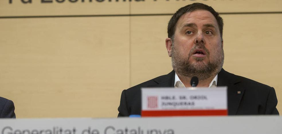 Junqueras propone una «caja de resistencia» para pagar la posible multa del 9-N