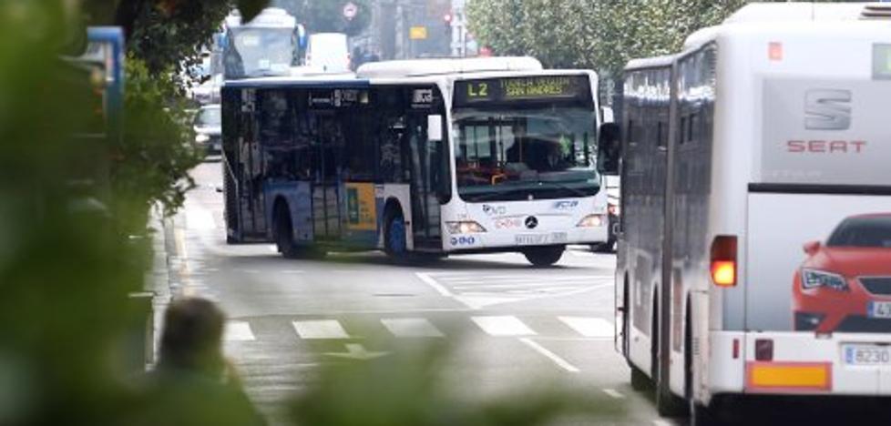Diez de las trece líneas de autobús urbano de Oviedo cambian su recorrido y se crea una rápida