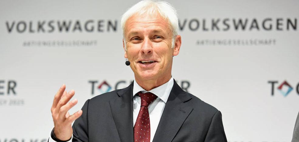 El presidente de Volkswagen pide perdón por el escándalo del diésel
