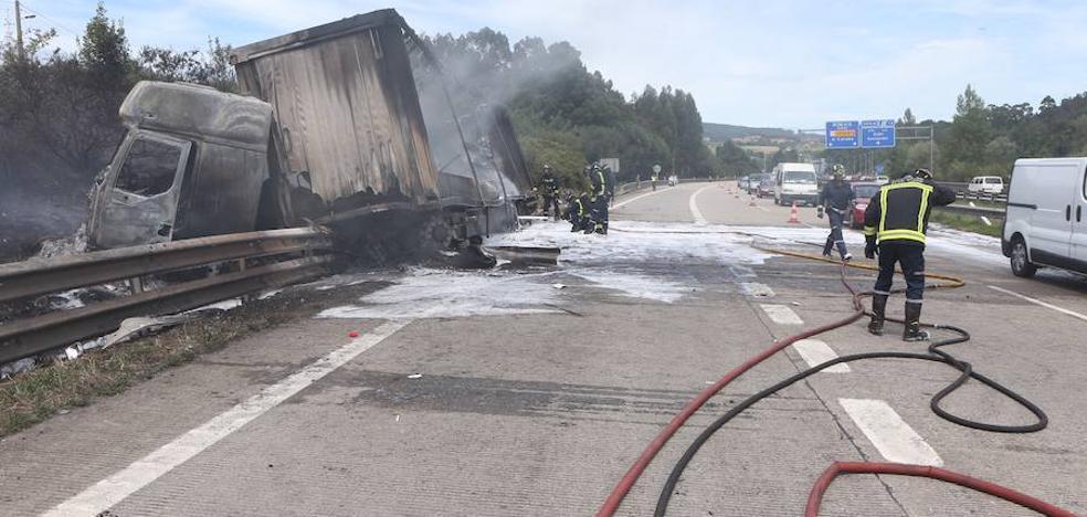 Complicada jornada de tráfico en las carreteras asturianas