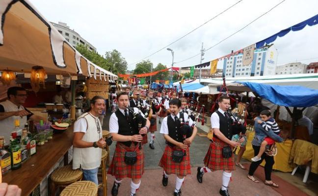 El Intercéltico abre siete días de festival en La Exposición