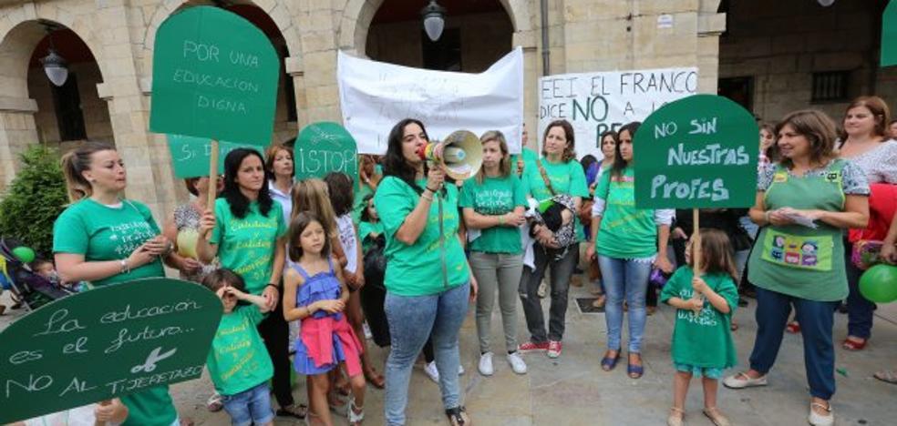 Las educadoras infantiles retoman las movilizaciones por su estabilidad laboral