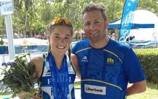 Paula Herrero se supera en los campeonatos de España