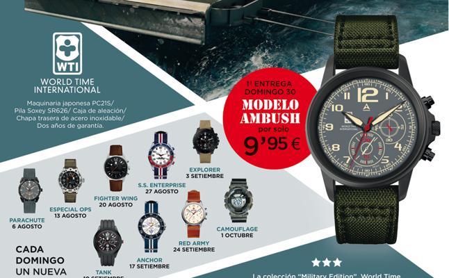Colección de relojes Military Edition