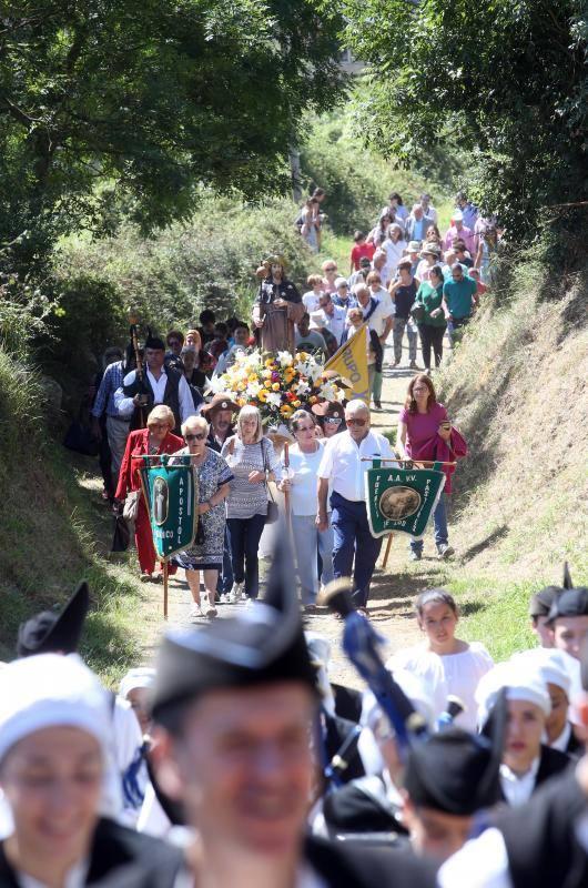 Fiesta en honor de Santiago Apóstol en el Naranco