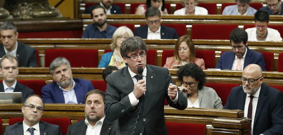 El Parlament aprueba la reforma para tramitar por la vía urgente las leyes de ruptura