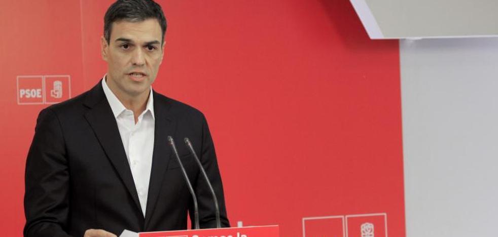 Pedro Sánchez: «Presidente, dimita»