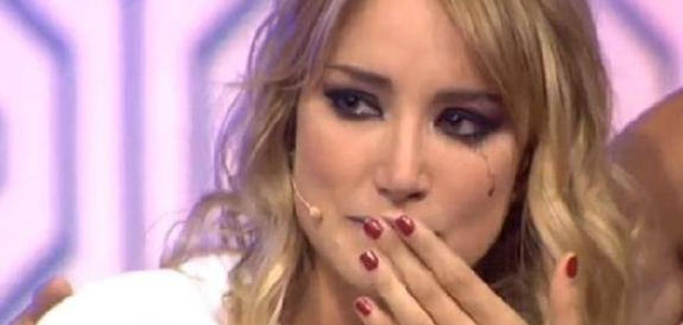 Espantada de Alba Carrillo durante la grabación del especial de 'Supervivientes'